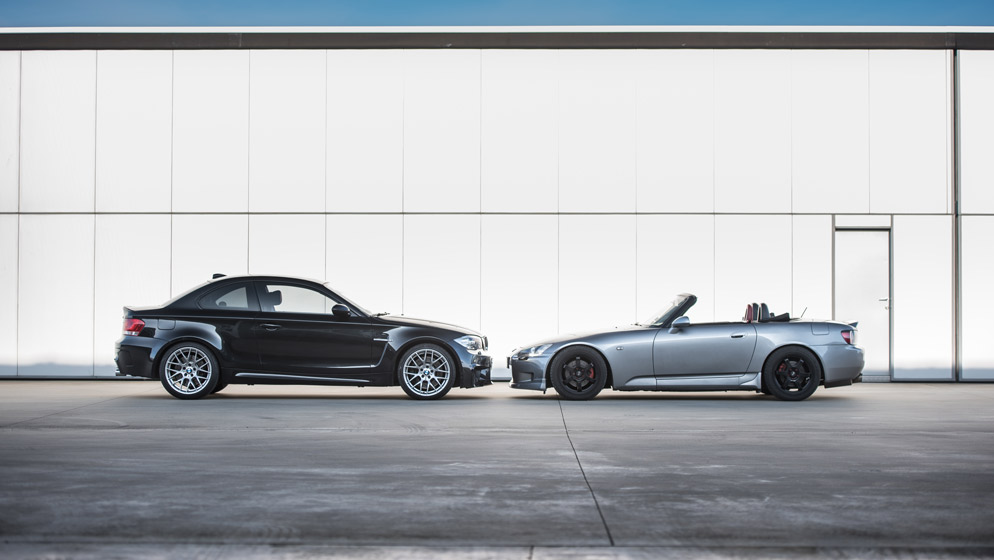 BMW 1M vs HONDA S2000