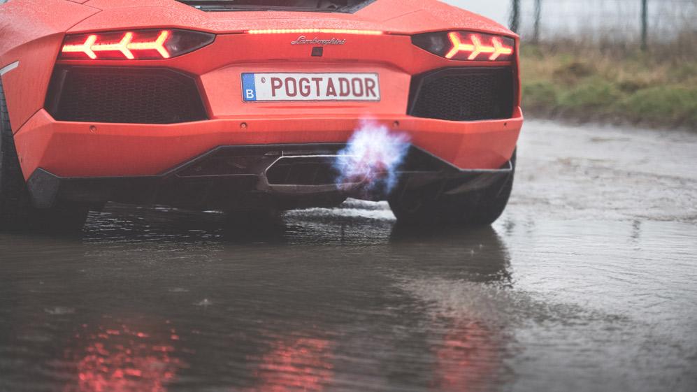 Shooting – Lamborghini Aventador