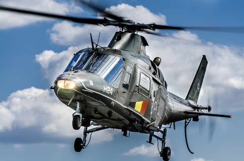 Agusta A109 – Belgian Air Force