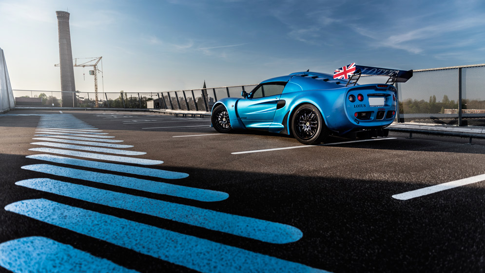 Shooting Lotus Exige S1